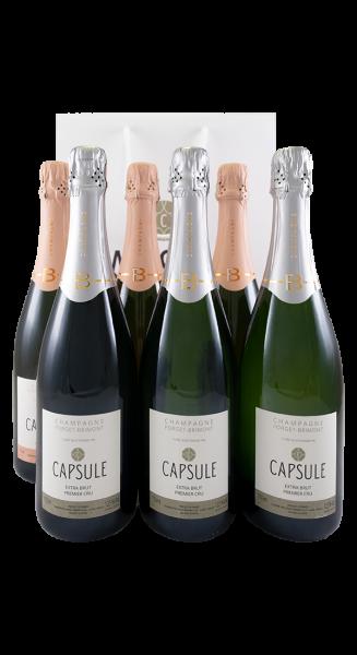 Forget Brimont - Cuvée Capsule Set 3x Extra Brut 3x Rosé