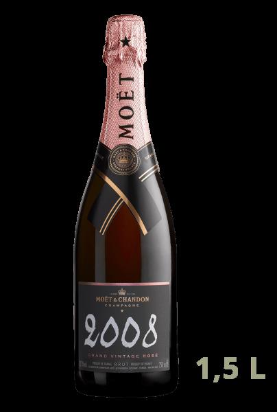 Moet & Chandon - Grande Vintage Rosé Magnum 2008